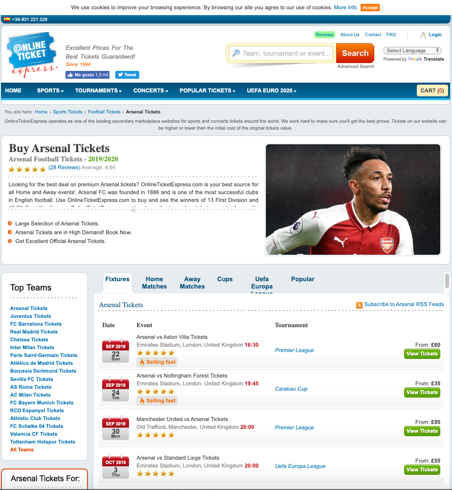 Online-Ticket-Express-category-page